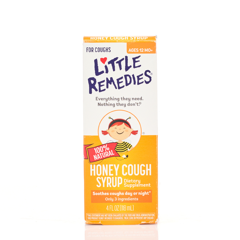 Little Remedies Honey Cough Syrup 118mL