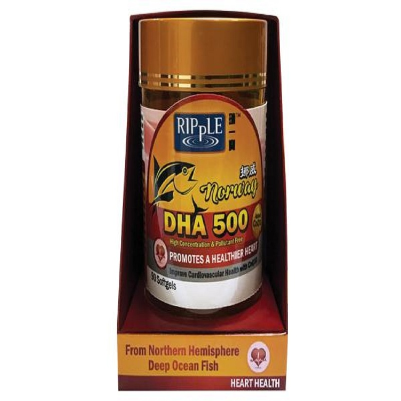 Ripple DHA 500 - Heart Health, 2x90 capsules