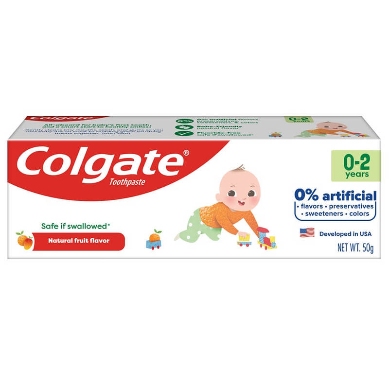 Colgate Kids Free From 0-2 Years 50g