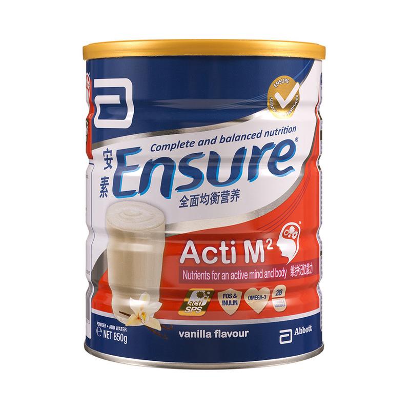 Ensure Acti M2 Vanilla, 850g