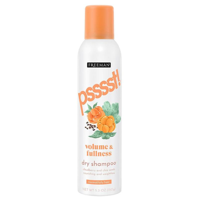 Freeman Psssst Volume and Fullness Dry Shampoo Cloudberry & Chia Seeds, 150g