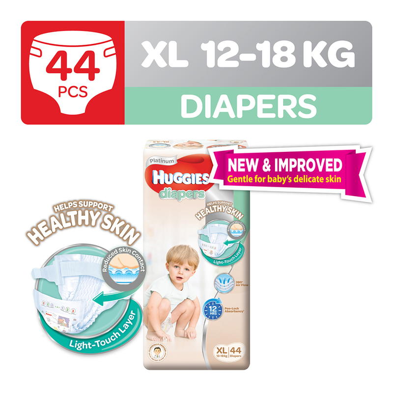 HUGGIES DIAPERS XLARGE44 NEW