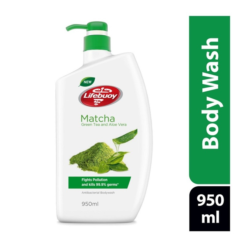 Lifebuoy Anti-bacterial Body Wash Matcha, 950ml