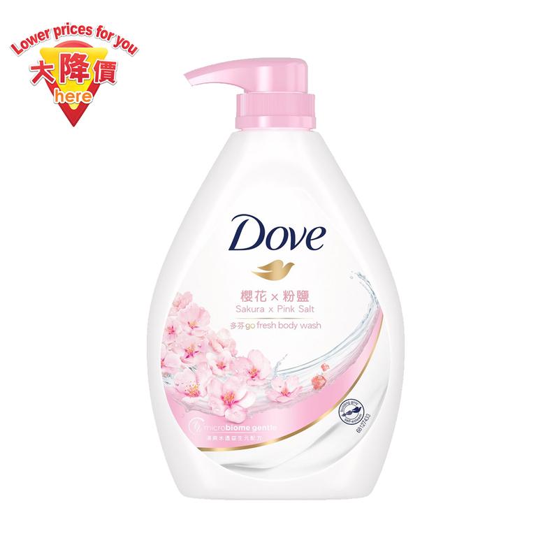 Dove Go Fresh Sakura Body Wash 750g