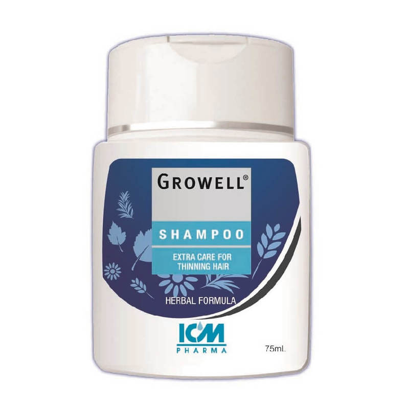 ICM Pharma  Growell Shampoo, 75ml