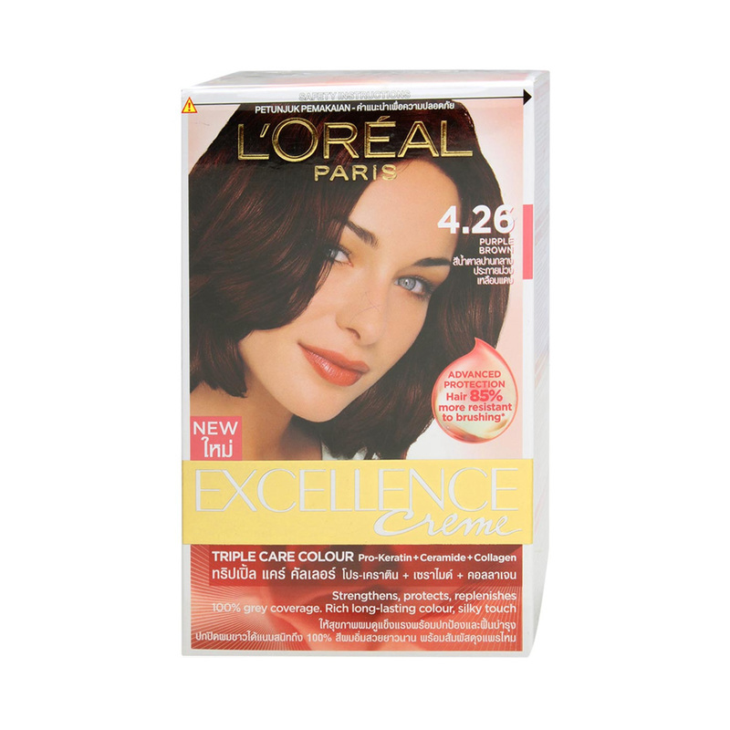L'Oreal Excellence Creme 4.26 Purple Brown