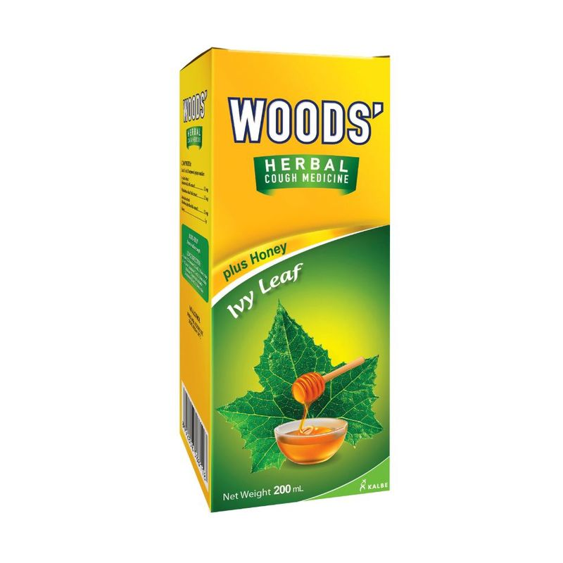 Woods Herbalmint Cough Syrup 200ml