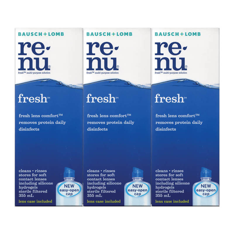 Bausch & Lomb Renu Fresh Triple Pack