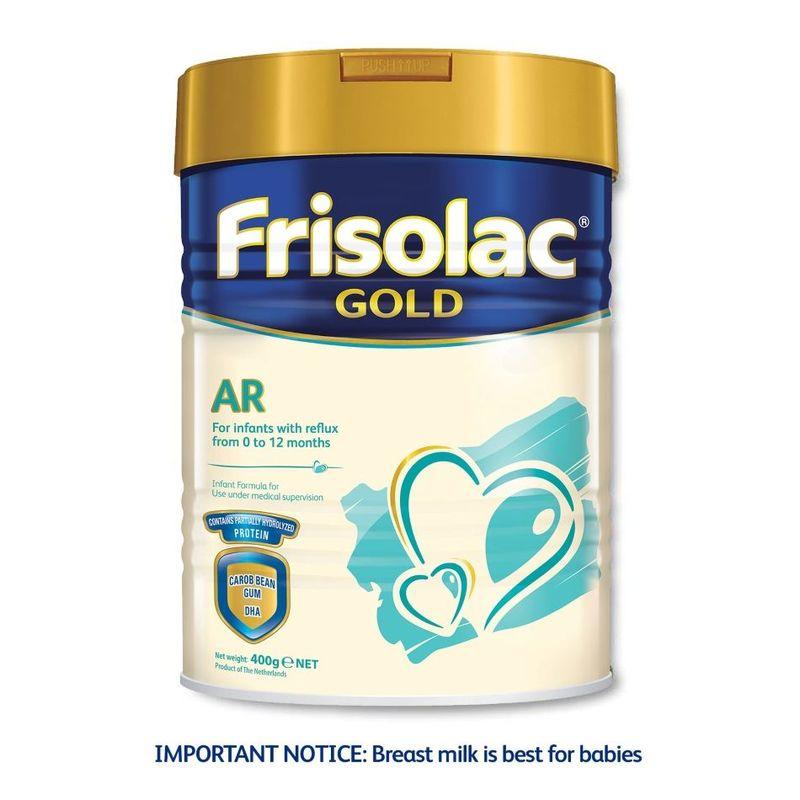 Frisolac Gold AR 400 g - Infant Baby Milk Formula for Newborn 0-12 months