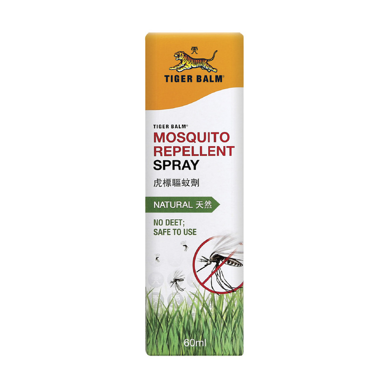 Tiger Balm Mosquito Repellent Spray, 60ml