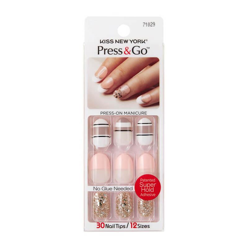 Kiss New York Press & Go Gel Nails PNG15J