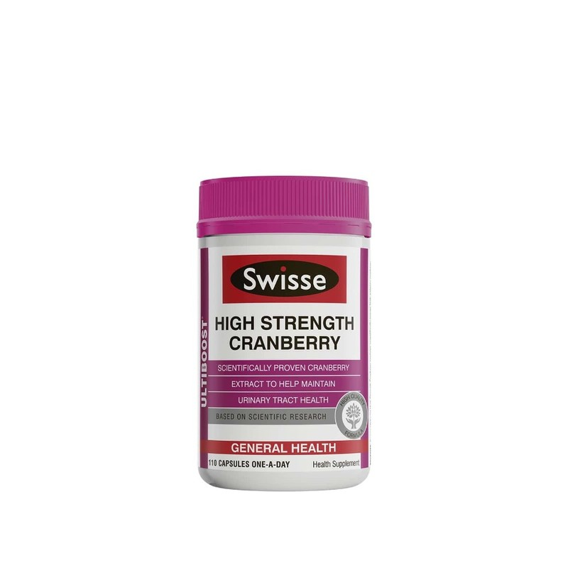 SWISSE ultiboost concentrated cranberry 110 capsules