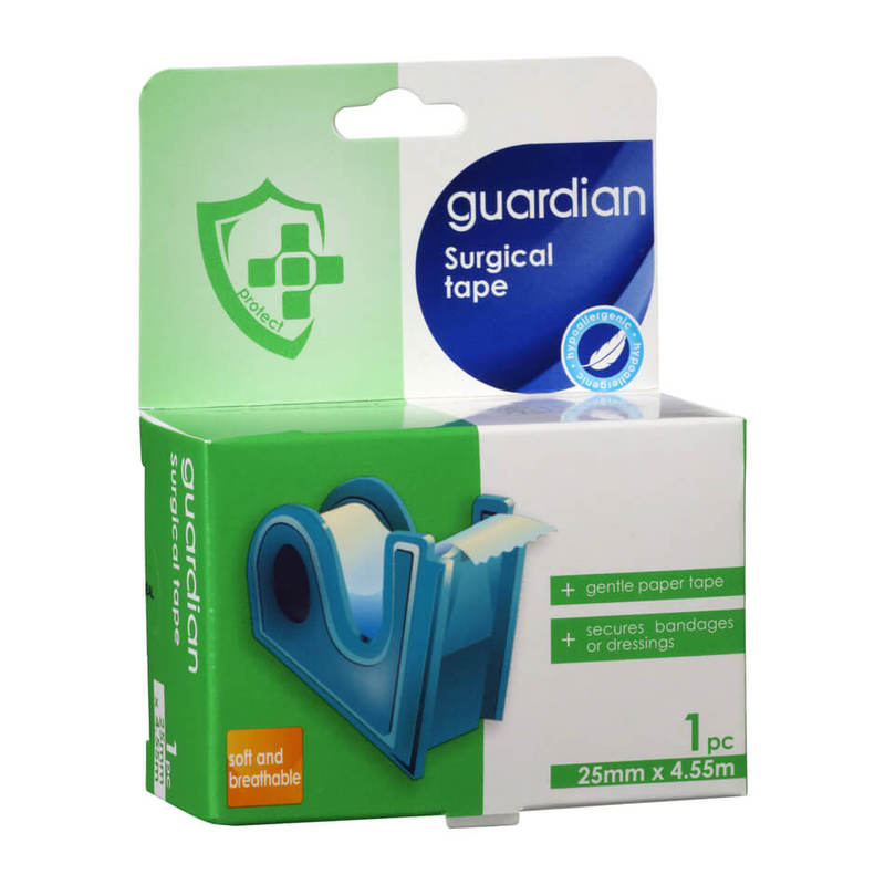 Guardian Surgical Tape 25mm x 4.5mm, 5 yards