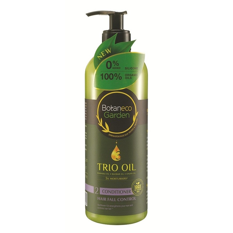 Botaneco Garden Trio Oil Hair Fall Control Conditioner, 500ml