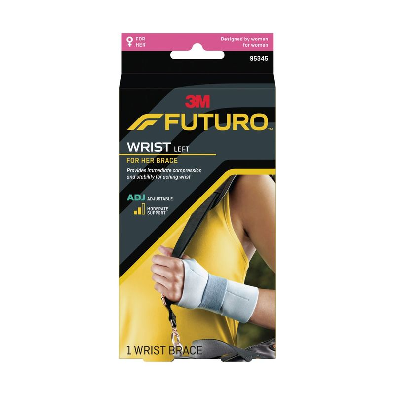 Futuro For Her Wrist Brace Adjustable Lefthand