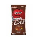 M&M's Milk Block Chocolate 160g