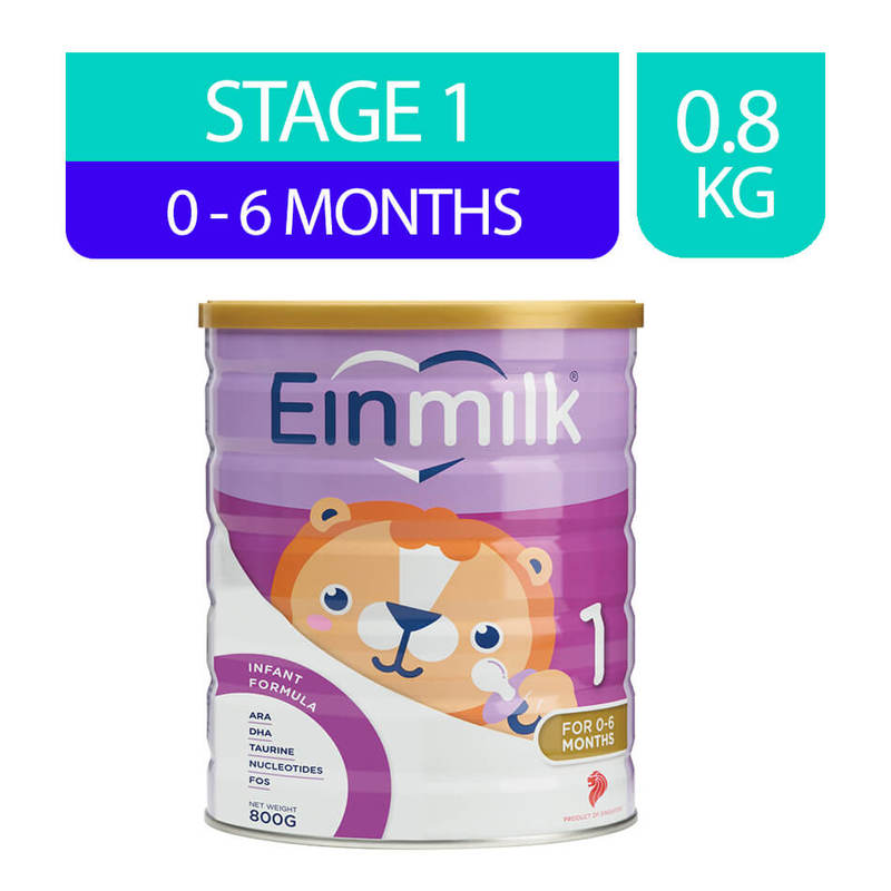 Einmilk Infant Formula Stage 1 (0-6M), 800g