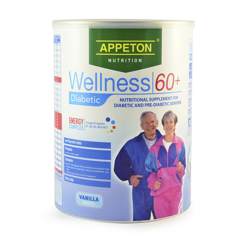Appeton Wellness 60+ Diabetic, 900g