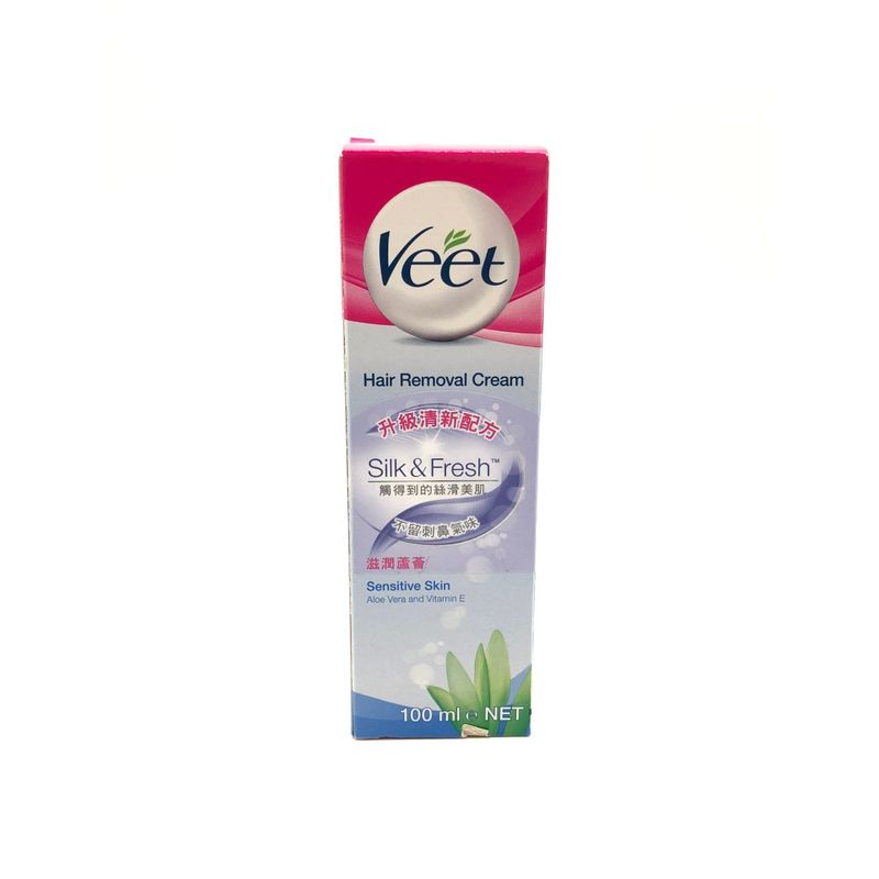 Veet Hair Removal Cream For Sensitive Skin 100ml Mannings