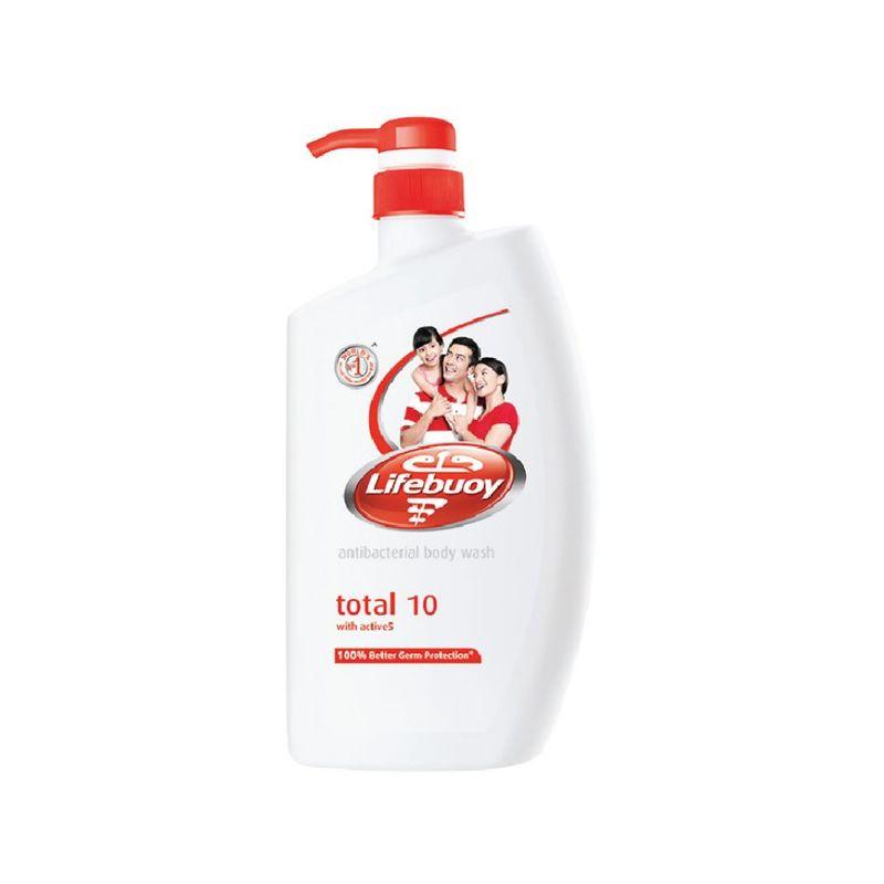 Lifebuoy Antibacterial Body Wash Total 10 Value Pack, 2x1L