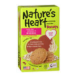 Nature's Heart Biscuits 10 Grains, 132g