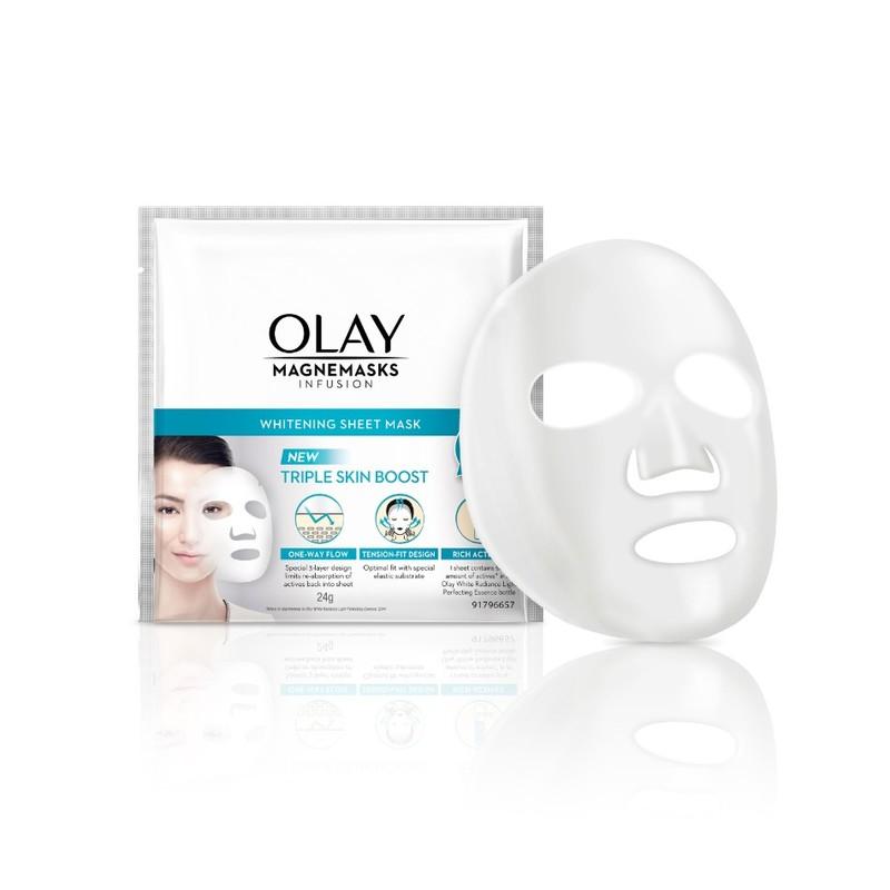 Olay Magnemasks Infusion Whitening Sheet Mask