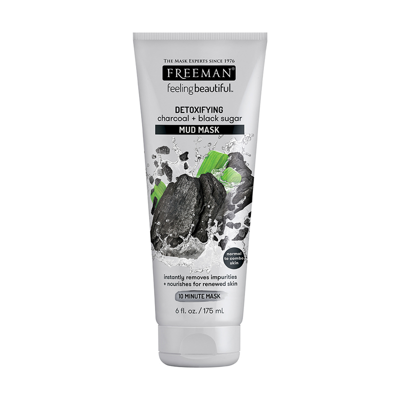 Freeman Charcoal & Black Sugar Mud Mask