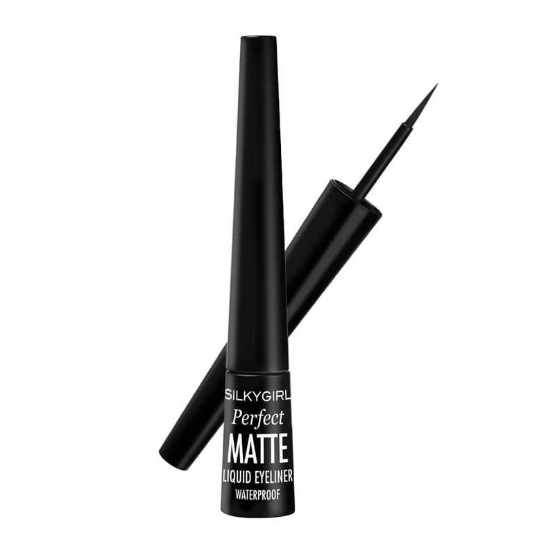 SilkyGirl Perfect Matte Liquid Eyeliner - 01 Matte Black 2.5ml