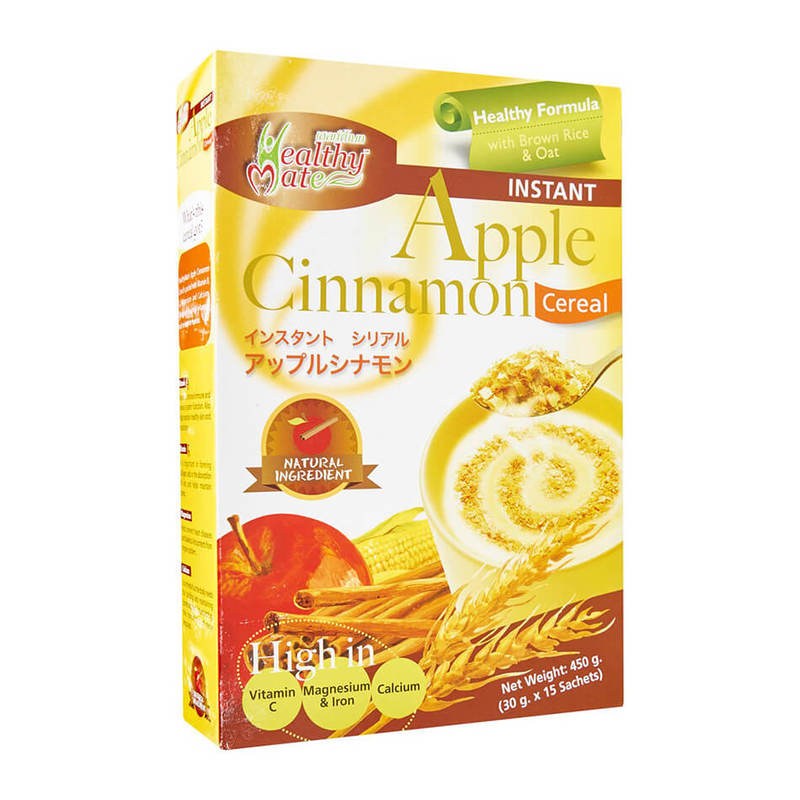 Healthy Mate Cereal Apple Cinnamon, 15x30g