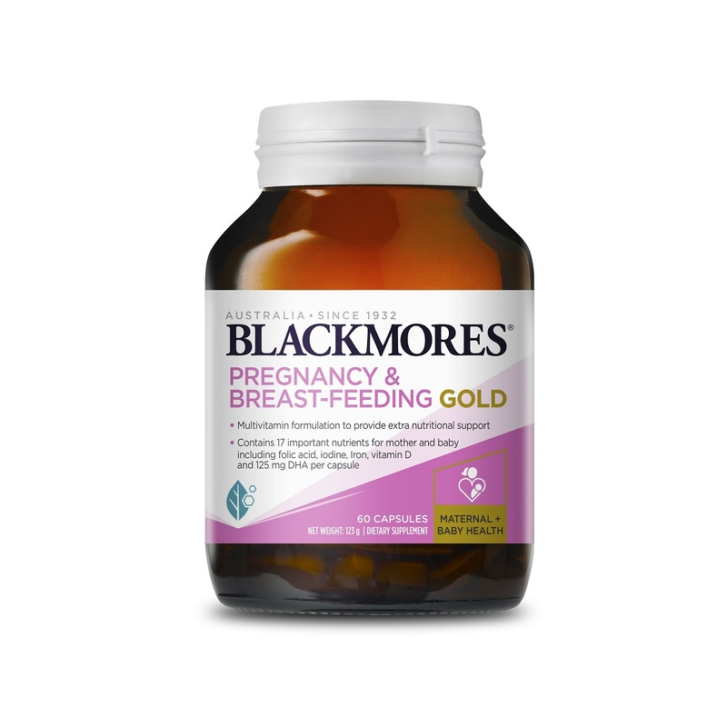 Blackmores Pregnancy&Breast Feeding Gold 60pcs