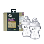 Tommee Tippee Closer to Nature® PP Bottle 260mL X2 bottles