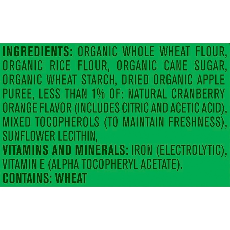 Gerber Organic Puffs Cranberry Orange, 42g