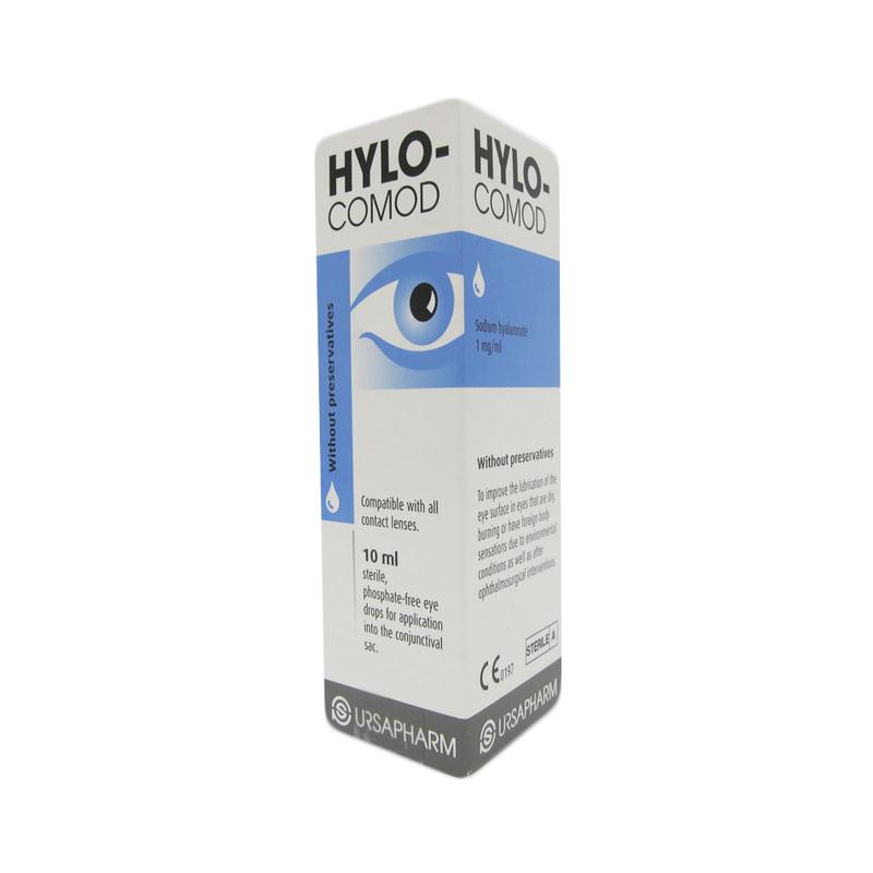 Hylo-Comod Lubricant Eye Drops, 10ml