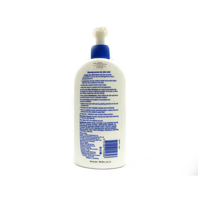 Rosken Skin Repair Dry Skin Cream, 375ml