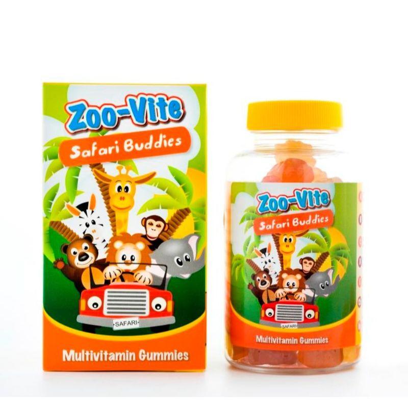 Nature's Essentials Zoo-Vite Safari Buddies Twin Pack 60's x 2