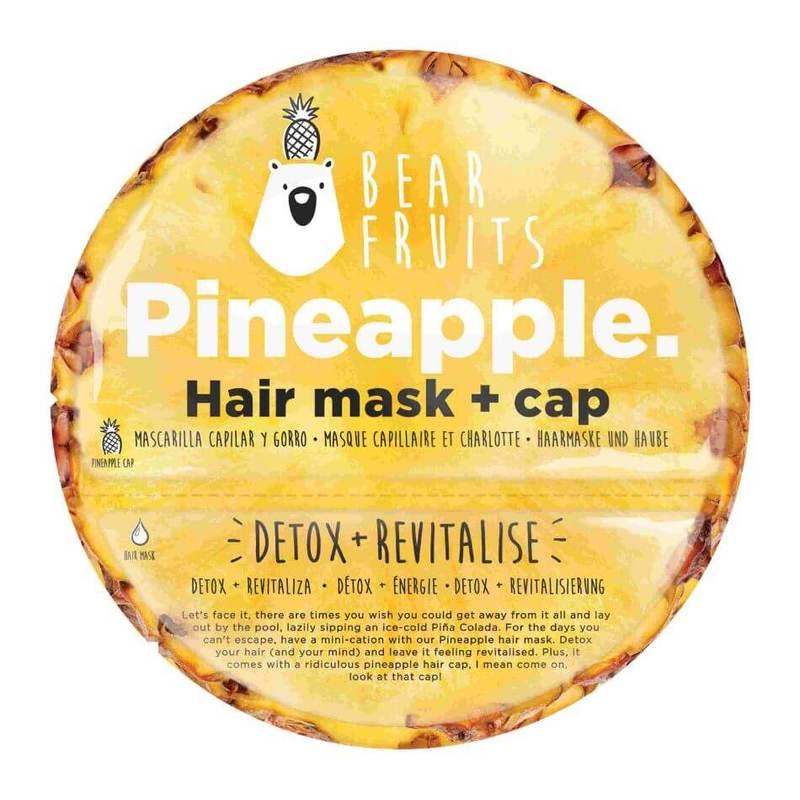 Bear Fruits Pineapple Detox Revitalise Hair Mask & Hair Cap 20ml