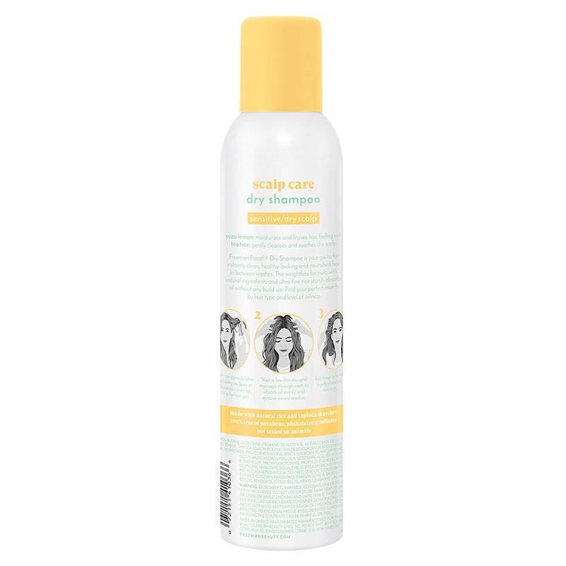 Freeman Psssst Scalp Care Dry Shampoo Yuzu Lemon and Tea Tree, 150g