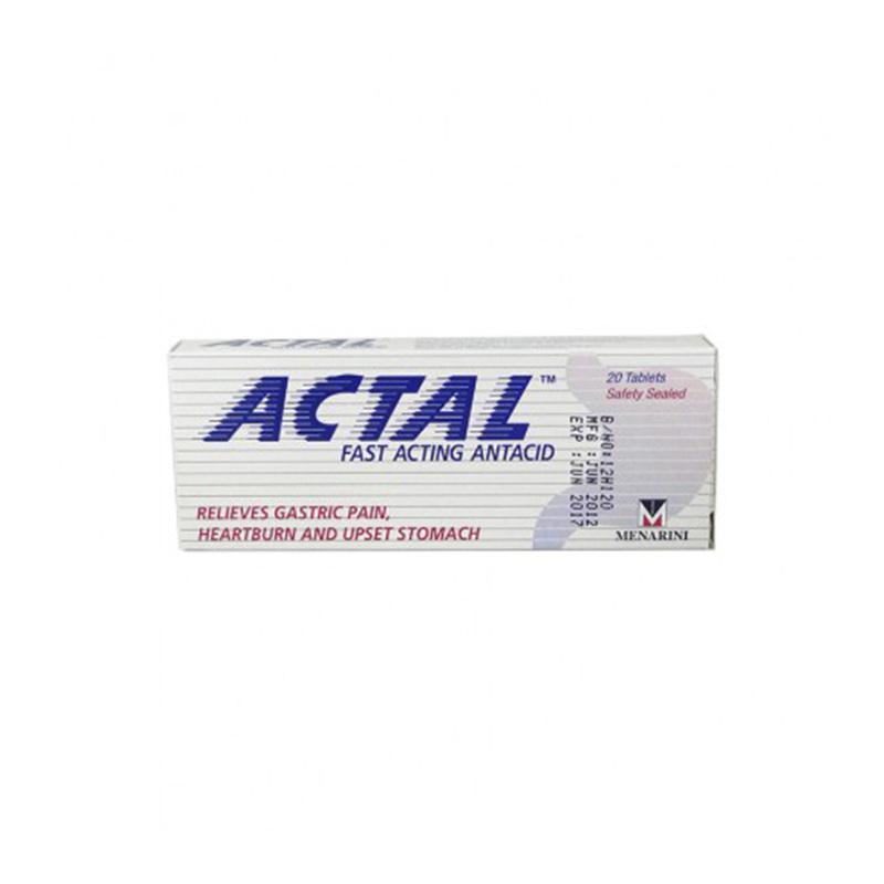 Actal Antacid, 20 tablets