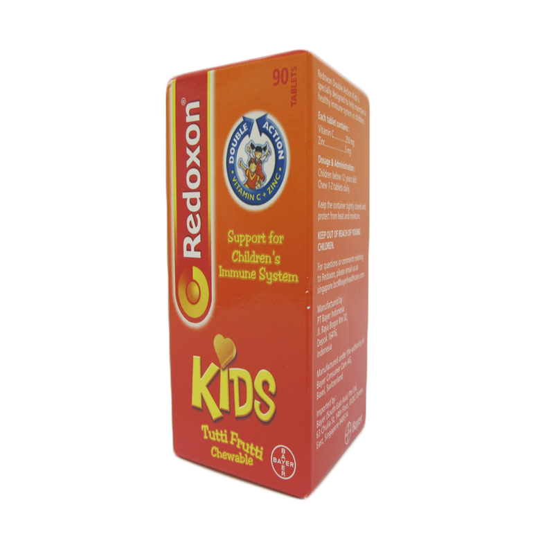 Redoxon Double Action Kids 250mg, 90 tablets