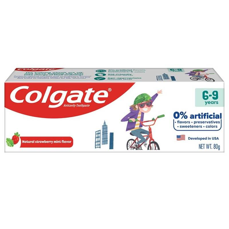 Colgate Kids Free From 6-9 Years 80g