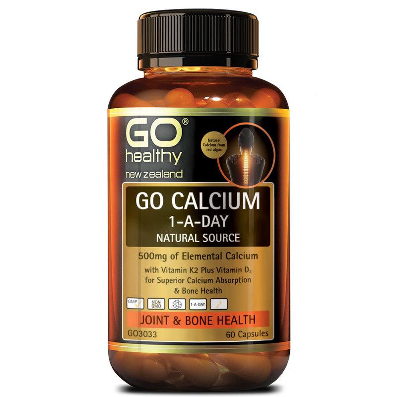 GO Healthy Calcium, 60 capsules