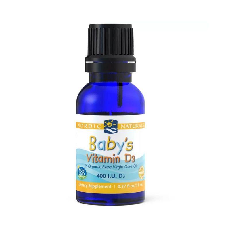 Nordic Naturals Baby's Vitamin D3, 11ml