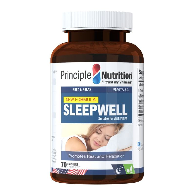 Principle Nutrition Sleepwell, 70 capsules