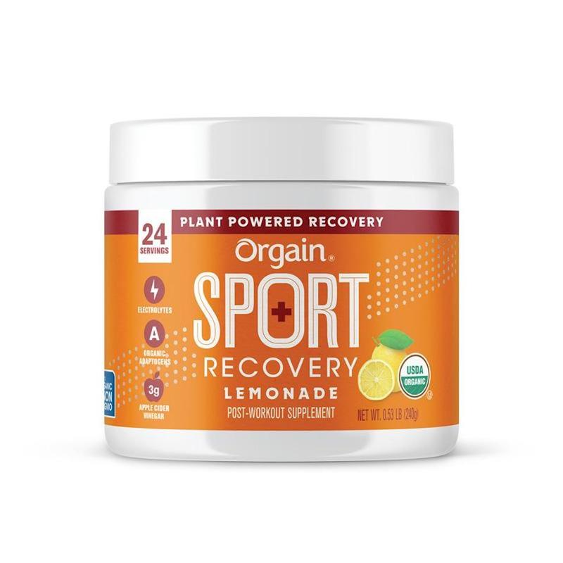 Orgain Sport Recovery Powder Lemonade 240g