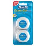 Oral-B Waxed Dental Floss Twin Pack, 2x50m