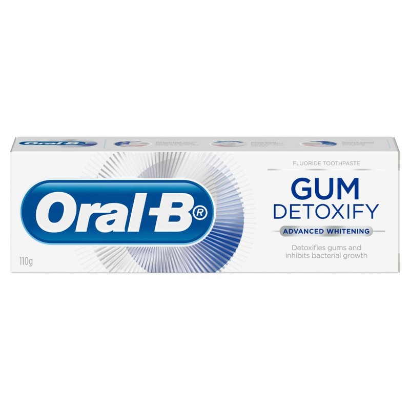Oral-B Gum Detoxify Advanced Whitening Toothpaste, 110g