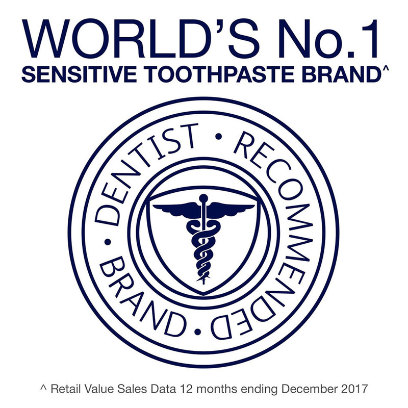 Sensodyne Sensitive Daily Care Gentle Whitening Toothpaste, 100 g