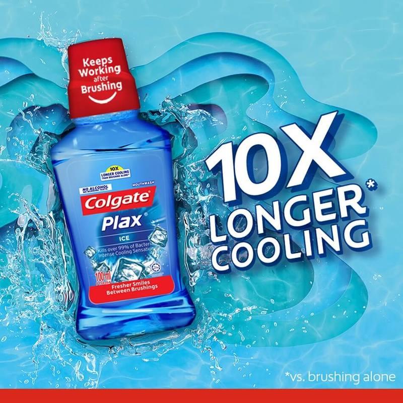Colgate Plax Ice Mouthwash, 250ml