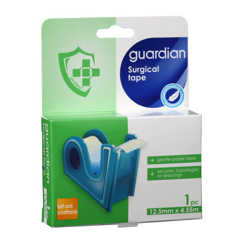 Guardian Surgical Tape 12.5mm x 4.5mm, 5 yards