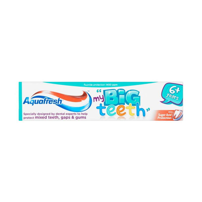 Aquafresh Big Teeth Toothpaste, 50ml
